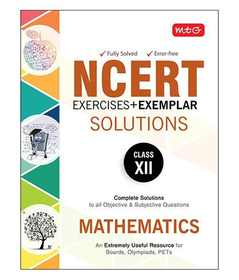 Ncert Exercises Exemplar Solutions Mathematics Class 12 Paperback 2nd Edition Buy