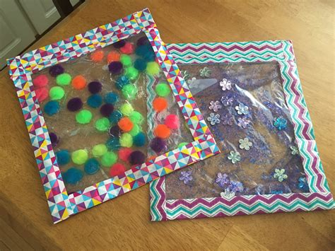 sensory crafts for squishy sensory bags as