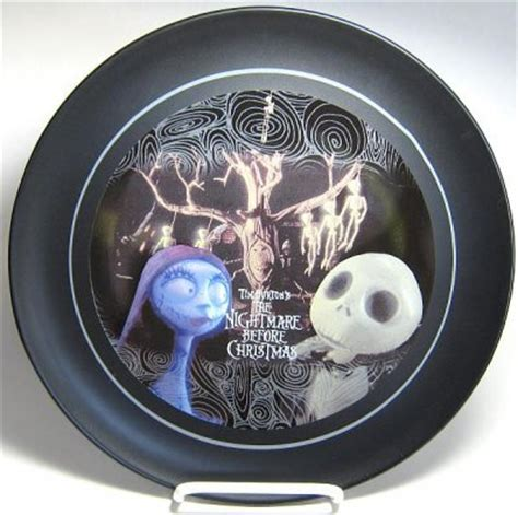 jack skellington and sally collectors plate from our