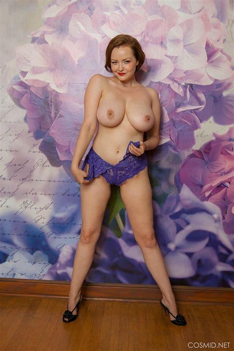 natasha dedov in beautiful frilly lingerie boobgoddess