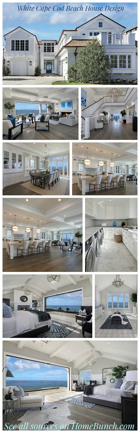 Cape Cod California House With Blue And White by Cape Cod California House Home Bunch Interior