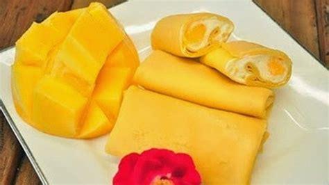 cara membuat pancake buah naga cara membuat pancake mangga spesial lembut nikmat