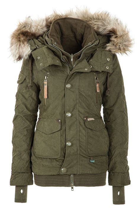 Jaket Winter khujo s winter jacket margret olive 320 http www