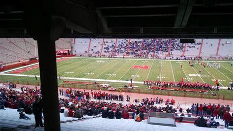 what is section 25 nebraska football memorial stadium seating chart