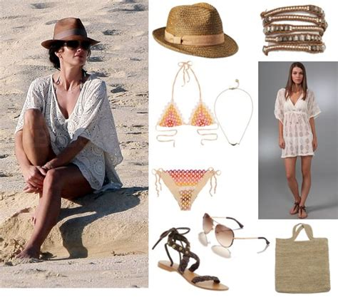 beach style hot celebrity beach fashion bts blog
