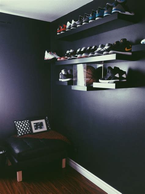 sneaker room ideas 25 best ideas about shoe wall on diy shoe storage shoe display and utility room ideas