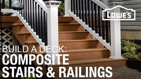 build  deck composite stairs railings