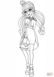 ever after high coloring pages gingerbread house ever after high ginger breadhouse coloring page free