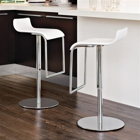 White Bar Stools Modern by Modern White Bar Stools Cabinets Beds Sofas And