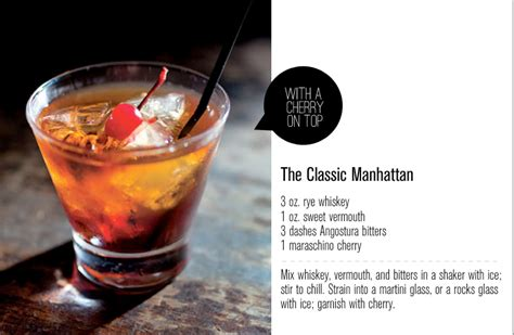 manhattan drink the classic manhattan freutcake