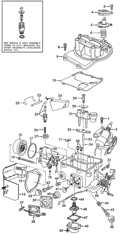 American Motors 2100 Exploded View - Carburetor Factory