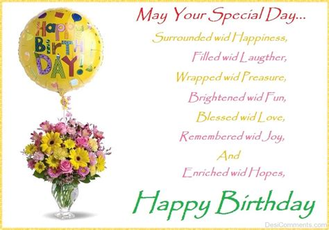 day birthday may your special day happy birthday desicomments