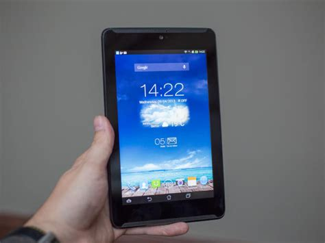 Tablet Android 7 Inchi Asus Fonepad 7 mwc asus stellt neuauflage des 7 zoll android tablets fonepad vor cnet de