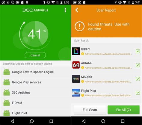 best free security for android best antivirus apps for android 2017 security apps