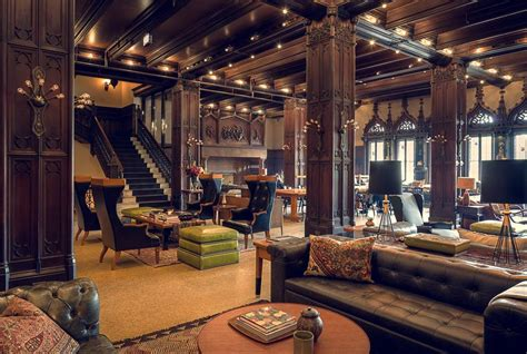 High Backed Armchairs The Coolest Hotel Lobbies In Chicago