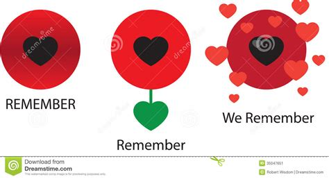 graphical poppies x 3 stock vector image of 11th forces