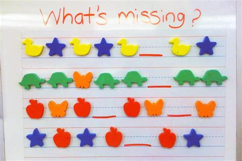 growing pattern kindergarten 106 best images about repeating growing patterns on