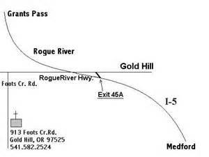 gold hill oregon map service times map foots creek chapel gold hill oregon