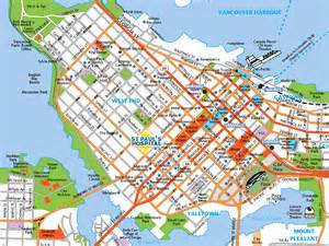 map of downtown vancouver canada vancouver new home in vancouver