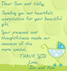 generic baby shower thank you wording how to write thank you card baby shower baby shower