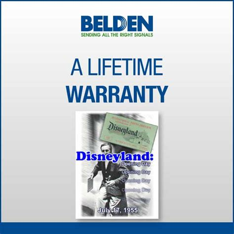 lifetime warrenty a lifetime warranty maser communications