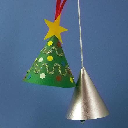 How To Make A Paper Bell - mini 193 rvore de natal feita de cone cantinho alternativo