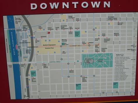 map of downtown downtown sacramento city map sacramento california mappery