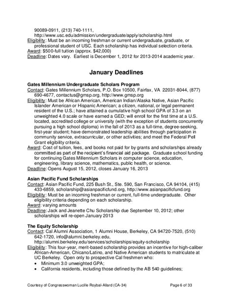 Vcu Executive Mba Scholarship by Misc Scholarship Guide 2012 2013