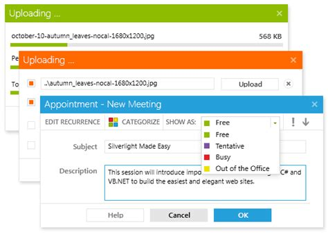 update layout silverlight metro ui for radcontrols for silverlight and wpf