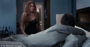 scary movie bedroom scene lindsay lohan makes fun of her troubled history in new sneak peak for scary movie 5