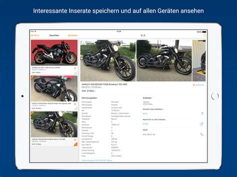 Motorradhandel App by Motoscout24 Schweiz F 252 R Motorr 228 Der Roller App Insight