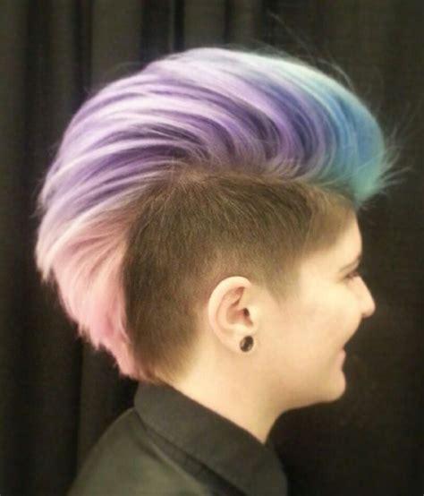 ideas for hair styles when giving birth best 25 female mohawk ideas on pinterest short hair