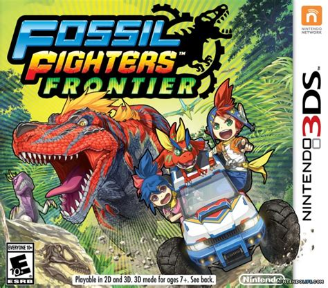 fossil fighters fossil fighters frontier review 3ds nintendo