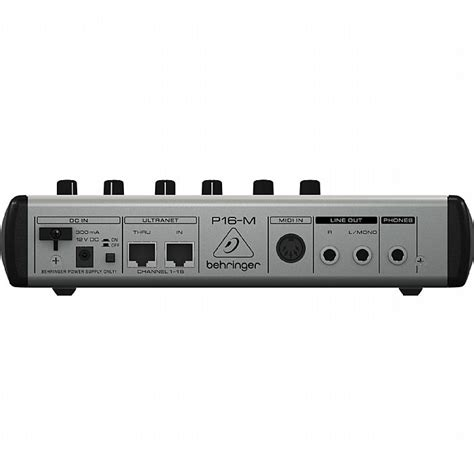 Daftar Mixer Behringer 16 Channel behringer powerplay 16 p16 m 16 channel digital personal