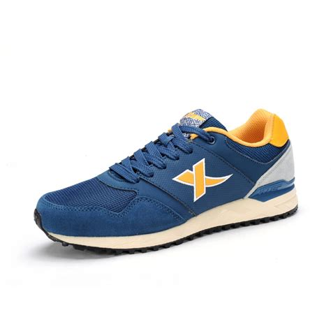 fashion with running shoes xtep original autumn fashion retro vintage running