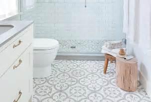des sols originaux pour la salle de bain cocon de