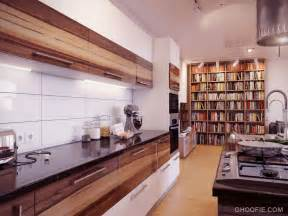 Modern Backsplash Kitchen Modern White Backsplash Wooden Units Kitchen Interior