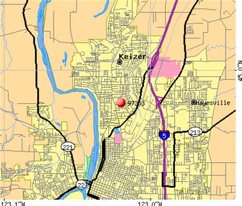 map of keizer oregon 97303 zip code keizer oregon profile homes