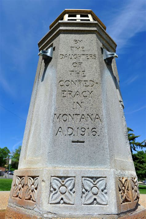 ken scow helena mt monuments helena in 75 objects 37 confederate memorial