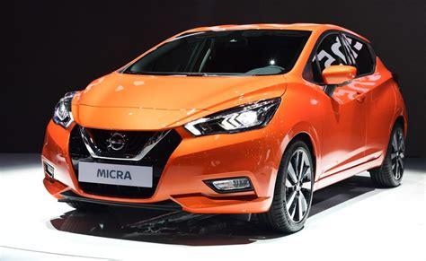 Auto Neu Anmelden by Der Nissan Micra Auf Dem Pariser Automobilsalon