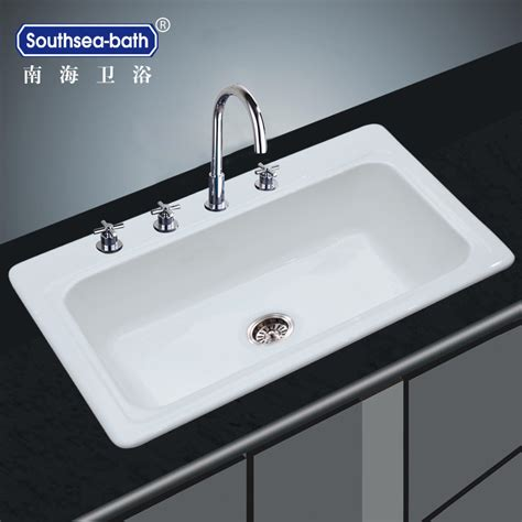 enamel kitchen sink enamel kitchen sinks shop kohler anthem basin drop in