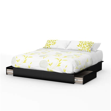 platform bed amazon amazon com south shore step one platform bed with drawers