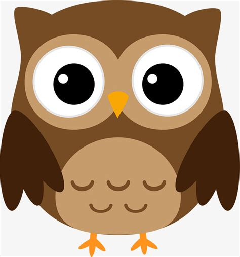 brown clip brown owl owl clipart great horned owl watercolor png