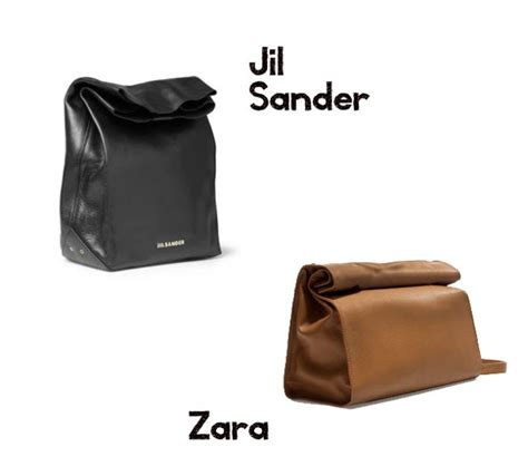 Zara Paperbag L style shouts jil sander and lunch bag
