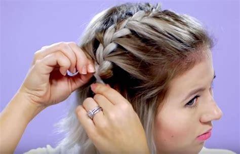 como hacer una trenza francesa youtube youtube 191 c 243 mo hacer una trenza francesa para el cabello