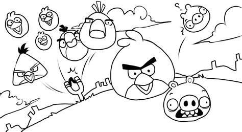 coloring page of angry birds coloring pages angry birds coloring for kids online