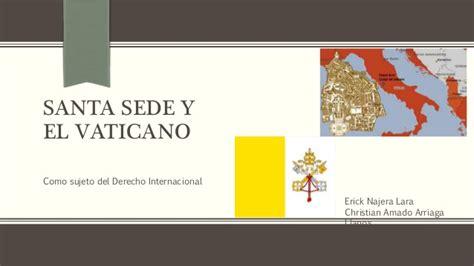 santa sede vaticana vaticano y santa sede