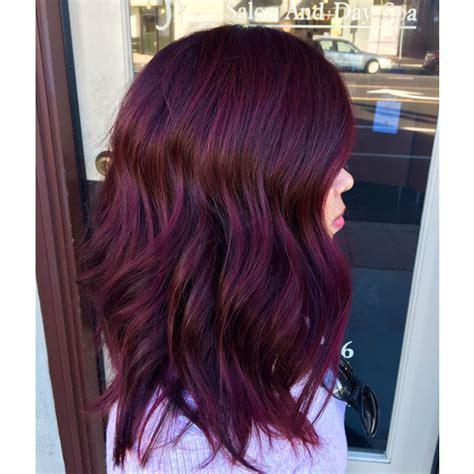 merlot hair color lush merlot behindthechair