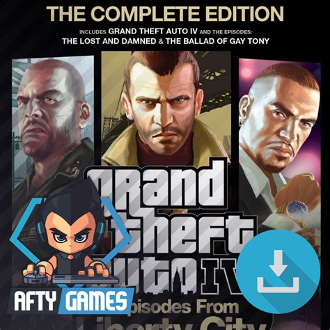 Grand Theft Auto Iv Complete Edition by Grand Theft Auto Iv Complete Edition Gta 4 Pc