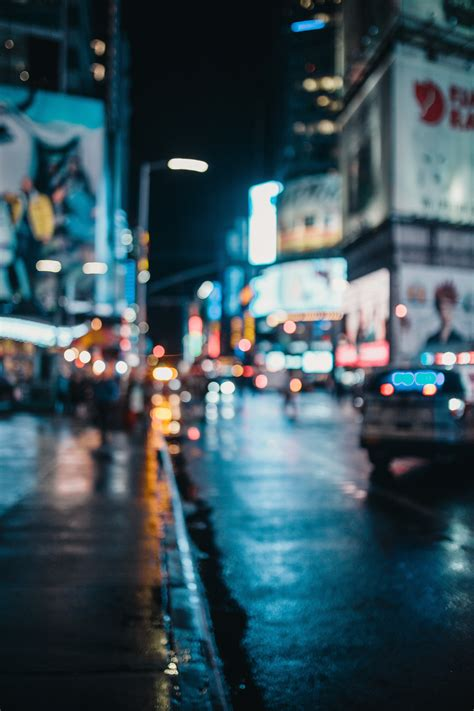 images blur cars city lights night   focus